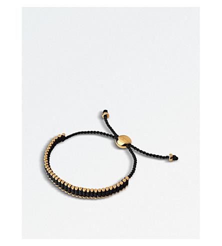 LINKS OF LONDON Mini 18ct yellow-gold vermeil friendship bracelet