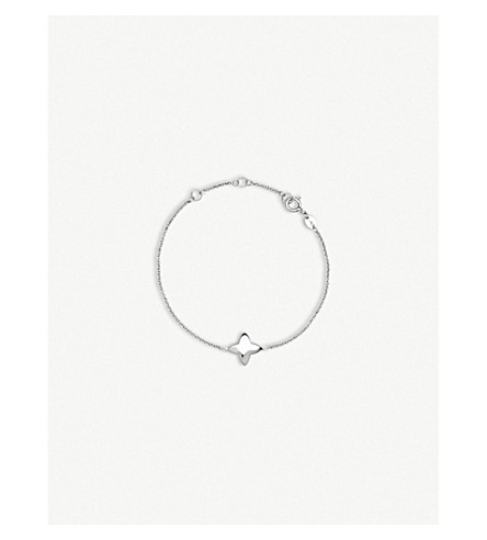 LINKS OF LONDON Four-point star sterling silver bracelet