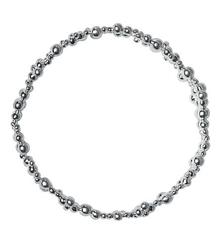 LINKS OF LONDON Effervescence bubble bangle (Silver
