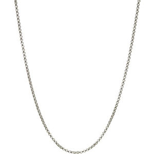 Mini belcher sterling silver chain 61cm