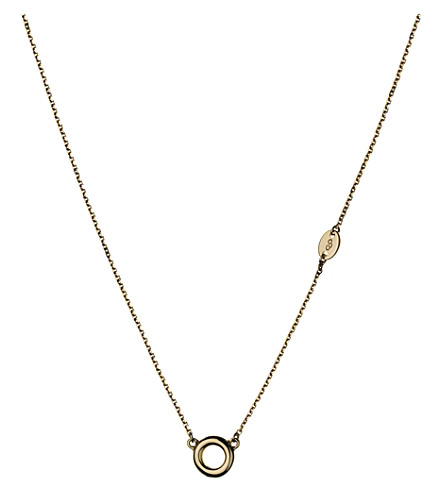 LINKS OF LONDON Sweetie Essence 18ct gold-plated necklace