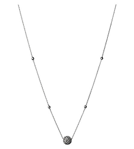 LINKS OF LONDON Effervescence Bubble sterling silver necklace