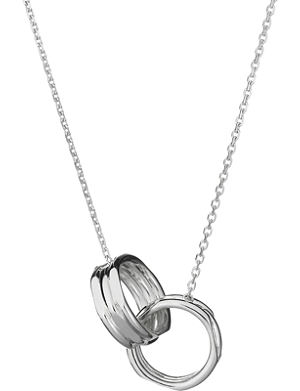 LINKS OF LONDON 20/20 interlocking sterling silver necklace