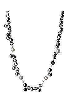 LINKS OF LONDON Effervescence sterling silver pearl necklace