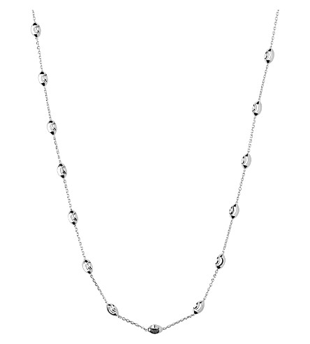 LINKS OF LONDON Sterling silver beaded chain necklace