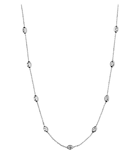 LINKS OF LONDON Beaded chain necklace (Silver