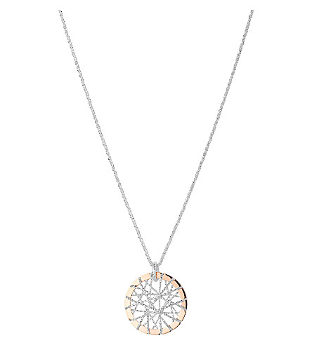 LINKS OF LONDON Dream Catcher rose gold pendant