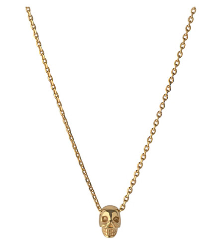 LINKS OF LONDON Mini skull pendant necklace