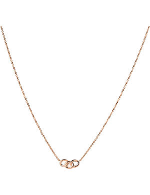 LINKS OF LONDON Signature mini rose gold necklace