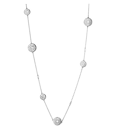 LINKS OF LONDON Timeless sterling silver multi station necklace (Silver