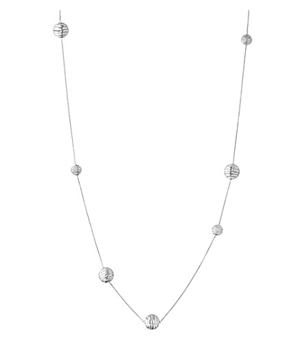 LINKS OF LONDON Thames sterling silver long necklace (Silver