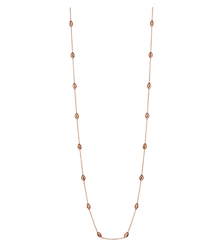 LINKS OF LONDON Essentials 18ct rose gold-plated Beaded Chain necklace