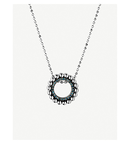 LINKS OF LONDON Effervescence sterling silver and diamond necklace