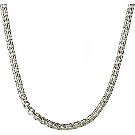 LINKS OF LONDON Sterling silver box belcher chain
