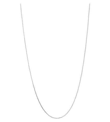 LINKS OF LONDON Silver 1.2mm 50cm diamond cut cable chain