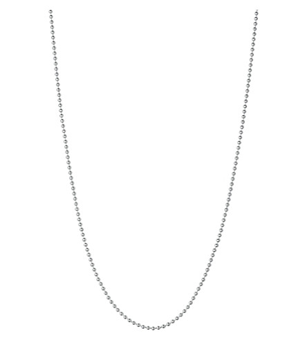 LINKS OF LONDON Silver ball chain necklace