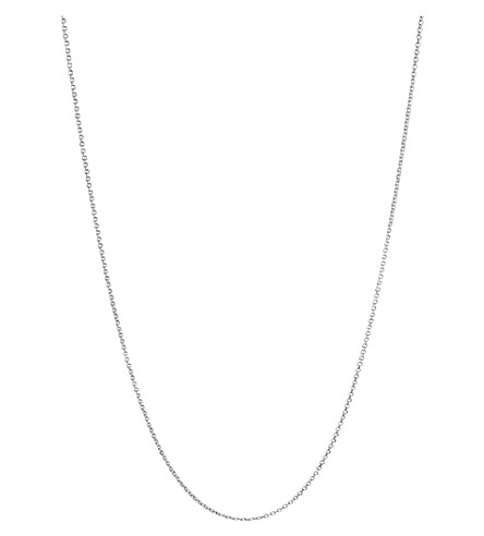 LINKS OF LONDON Essentials sterling silver cable chain 45cm (Silver