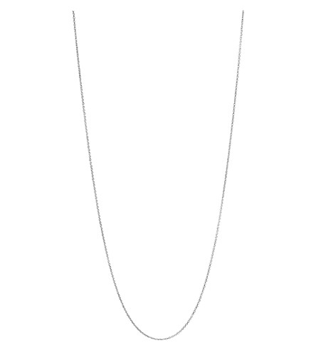 LINKS OF LONDON Essentials sterling silver cable chain 60cm (Silver