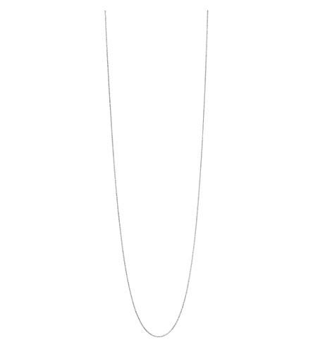 LINKS OF LONDON Essentials sterling silver cable chain 80cm (Silver