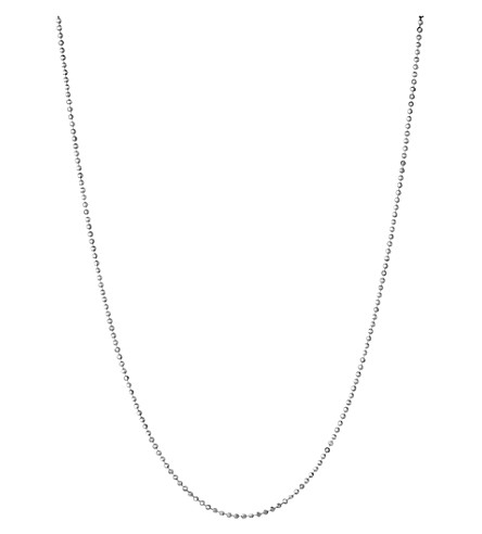 LINKS OF LONDON Essentials sterling silver ball chain necklace 45cm (Silver