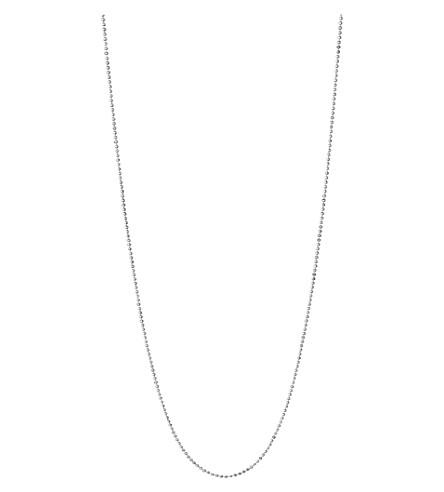 LINKS OF LONDON 精华纯银球链项链 60cm (银色