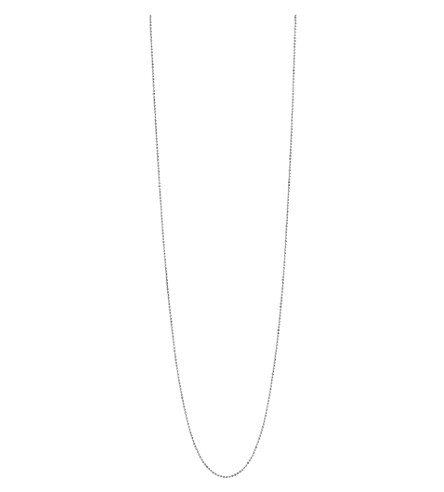 LINKS OF LONDON Essentials sterling silver ball chain necklace 85cm (Silver