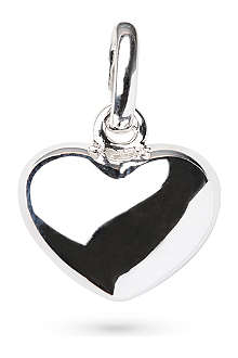 LINKS OF LONDON Heart sterling silver charm