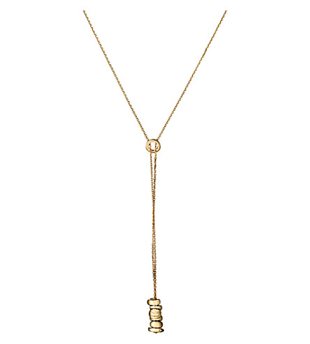 LINKS OF LONDON Sweetie Drops 18ct yellow-gold pendant