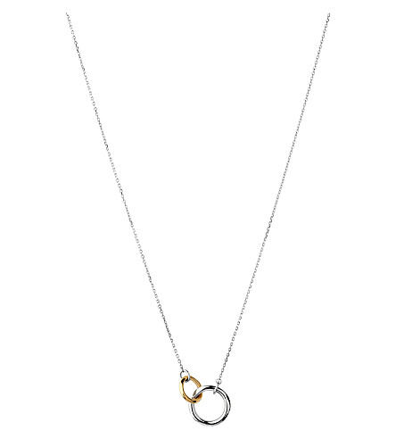 LINKS OF LONDON 20/20 bi-metal pendant necklace
