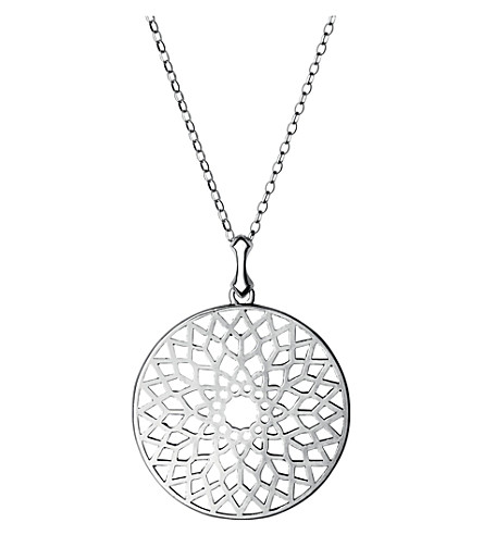 LINKS OF LONDON Timeless cutout sterling silver necklace (Silver