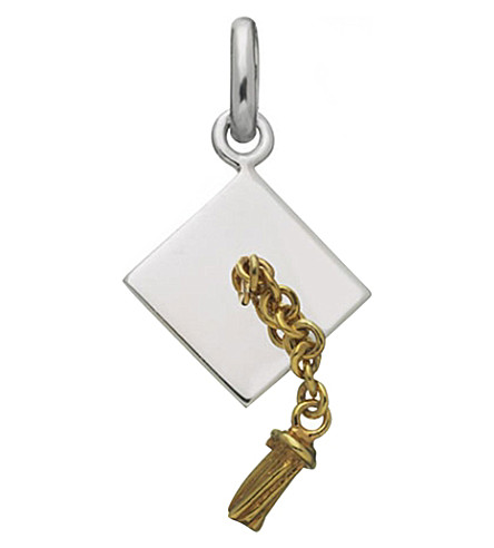 LINKS OF LONDON Sterling silver graduation charm