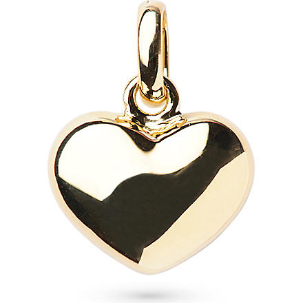 LINKS OF LONDON 18-carat gold heart charm