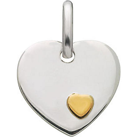 LINKS OF LONDON Heart disc charm