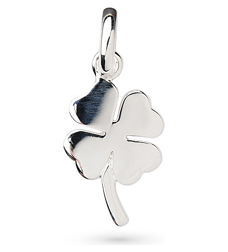 LINKS OF LONDON Four leaf clover silver charm
