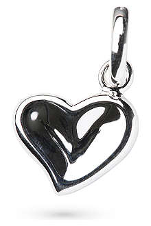 LINKS OF LONDON Thumbprint heart charm