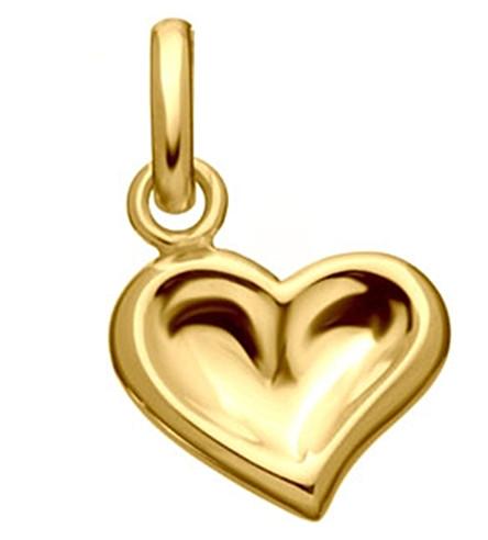 LINKS OF LONDON Thumbprint Heart 18ct gold charm