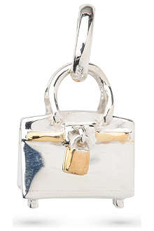 LINKS OF LONDON Tres Chic bag sterling-silver charm