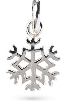 LINKS OF LONDON Snowflake sterling silver charm