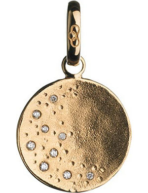 LINKS OF LONDON Watch Over Me 18ct moon charm
