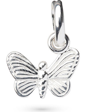 LINKS OF LONDON Butterfly sterling silver charm