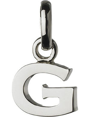 LINKS OF LONDON Alphabet G sterling silver charm