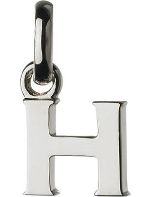 LINKS OF LONDON Alphabet H sterling silver charm