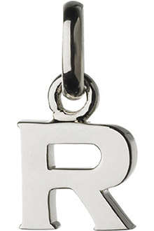 LINKS OF LONDON Alphabet R sterling silver charm