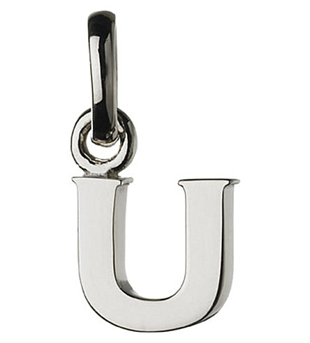 LINKS OF LONDON Alphabet U sterling silver charm