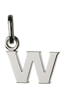 LINKS OF LONDON Alphabet W sterling silver charm
