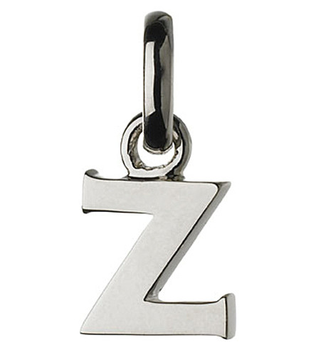 LINKS OF LONDON Alphabet Z sterling silver charm
