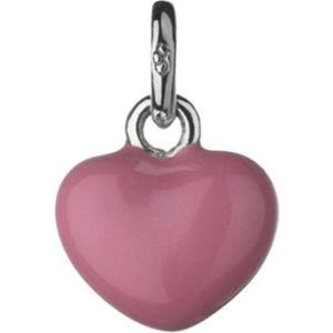 Mini pink heart charm