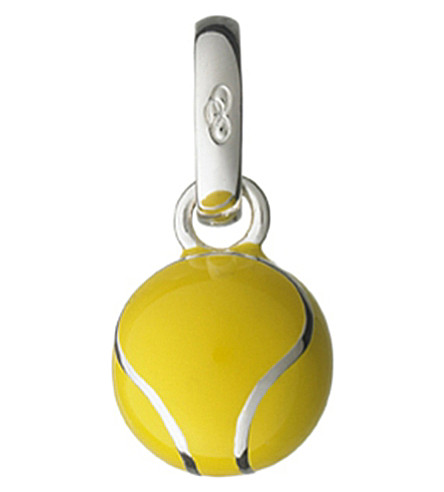 LINKS OF LONDON Wimbledon Tennis Ball sterling silver charm