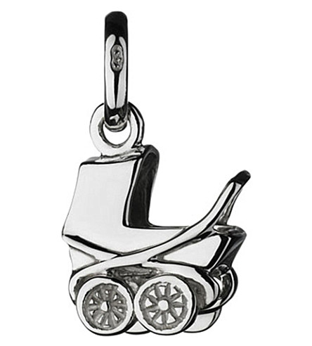 LINKS OF LONDON Baby Pram sterling silver charm