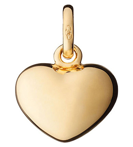 LINKS OF LONDON Heart 18ct yellow-gold charm